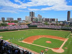 Cheer on the Cubs at historic Wrigley Field. This year, you can try new food items like a chicken and waffle stick or a bison bratwurst. (You could also go to US Cellular Field if you're a White Sox fan.)