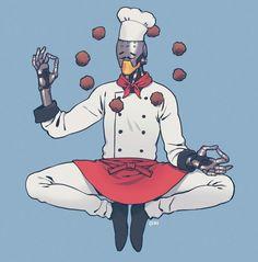 experience these meatballs. Overwatch Zenyatta, Overwatch Memes, Overwatch Fan Art, Overwatch Genji, Video Game Art, Video Games, Overwatch Skin Concepts, Widowmaker, Gaming Memes