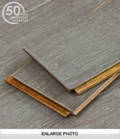 Vintage Eclipse Wide Plank Gray Wood Flooring Flooring