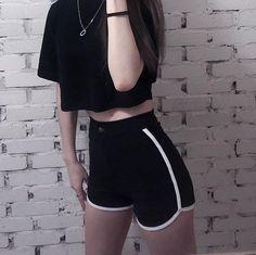 LunasAngel♡ Kpop Fashion Outfits, Winter Fashion Outfits, Korean Outfits, Mode Outfits, Cute Casual Outfits, Fall Outfits, Summer Outfits, Fall Fashion, Trendy Fashion