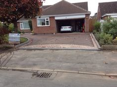 After RED Tarmac driveway