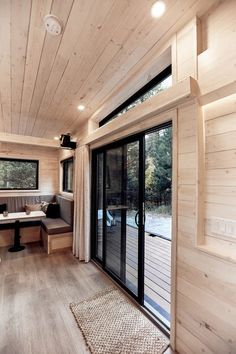 Land Ark first caught our attention with their amazing Drake tiny house. Now they have contacted us with news on their new offering, the Draper Tiny House, a towable home with plenty of storage space, a living room that doubles up as a guest room, an Small Tiny House, Modern Tiny House, Tiny House Cabin, Tiny Houses For Sale, Tiny House Living, Tiny House On Wheels, Little Houses, Small Living, Small Room Design
