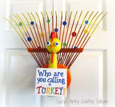 Who Are You Calling a Turkey? Door Greeter