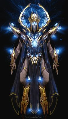 ArtStation - Templar Design from Star Craft II: Legacy of The Void, Anthony Jones