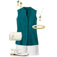 """Coldwater Creek First Outfit"" by hread on Polyvore"