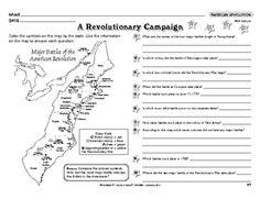 Worksheet: American Revolution