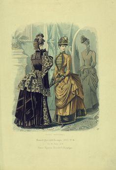 1885 Russian Fashion...