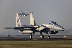 https://flic.kr/p/Sk5Sb5 | 'Right Between the Vertical Stabilisers', F-15C, 96-0175, 493rd, 48FW | RAF Lakenheath, Suffolk, United Kingdom