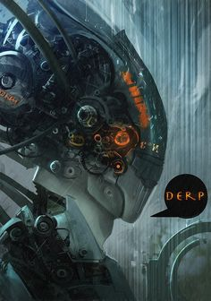 scifi-fantasy-horror:  Derp by Exphrasis