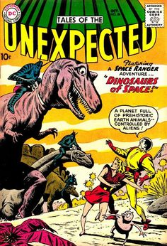 Tales of the Unexpected, comic book cover via #Newmanology
