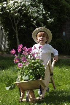 Young but already a gardener