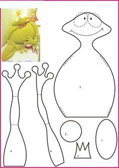Patron grenouille... ...