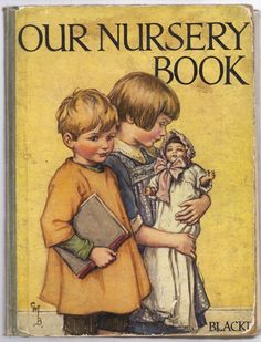 Our Nursery Book, cover illustration by Cicely Mary Barker