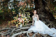 'To Autumn' styled shoot Hello It, Matilda, Sadie, Wedding Cakes, Floral Design, Hair Makeup, Editorial, Gowns, Autumn