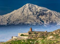 Khor Virap and Mt. Ararat Photo by Mike O'Connor — National Geographic Your Shot