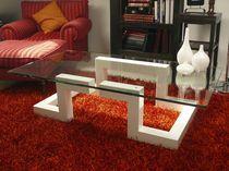 Mesa de centro / de diseño original / de cristal