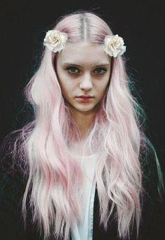Flowers Color Hair