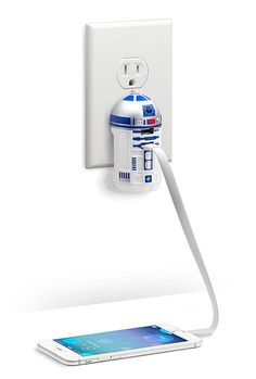 This handy USB wall charger — $29.99 | 21 Legit Cool Things Star Wars Fans Will Actually Want In Their Homes