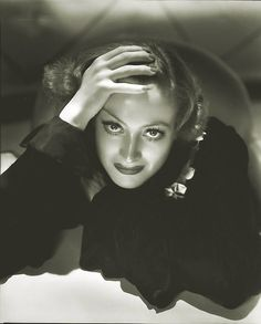 Joan Crawford by Hurrell