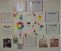 Colors Bulletin Board