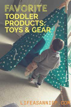 16 Month old favorites including toys, gear, and products!