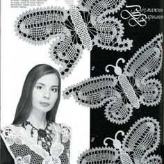 Welcome to Duplet and Zhurnal MOD crochet patterns magazines - Buy pure inspiration here! Russian Crochet, Irish Crochet, Freeform Crochet, Crochet Stitches, Lace Patterns, Crochet Patterns, Madona, Crochet Butterfly Pattern, Bruges Lace