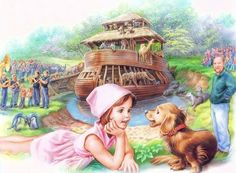 Martine, l'arche de Noé Marcel, Old School Pictures, Cute Pictures, Dachshund, Nostalgia Art, Me And My Dog, Dogs And Kids, Realistic Paintings, Gif Animé