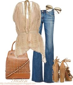 """""""70's"""" by stacy-gustin ❤ liked on Polyvore"""