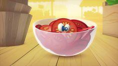 À table les enfants! - La tomate