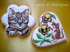 Kitten & mouse in Spring      http://letortedimariposa.blogspot.it