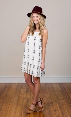 Bowstring Tunic Dress