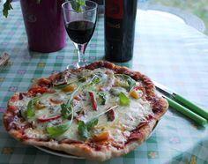 Huvilaelämää ja mökkiruokaa: Perjantaipizza Muurikalla