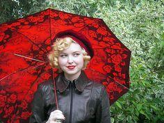 Red Umbrella Girl