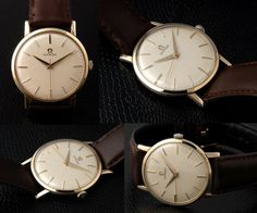 Stunning Vintage Man's 9 Ct Gold Omega Watch  Looks by IconoDesign, £425.00