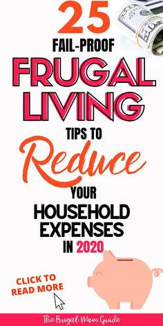 If you're looking to start saving money, learn to cut your household expenses with these frugal living ideas. These money saving tips and frugal life tips will Best Money Saving Tips, Money Saving Challenge, Ways To Save Money, Money Tips, Money Saving Hacks, Saving Ideas, Frugal Living Tips, Frugal Tips, Budgeting Finances
