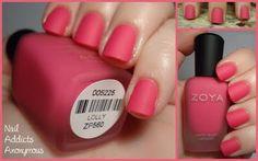 Zoya Lolly. Matte perfection take two #nails