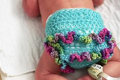Hope Jessi has twins and the other one is a girl so I can dress her up with pretty things like this.