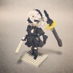 #nanoblock #nanoblocks #bricks #blocks#ナノブロック#NieRAutomata NieR: Automata 2B