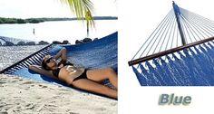 Tropic Island Blue Caribbean Hammock