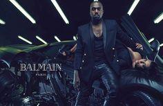 金卡黛珊、Kanye West 加入 BALMAIN 大军 | fit - 理想生活实验室旗下时尚媒体