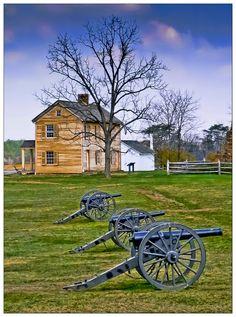Civil War Battlefield (Bull Run), Manassas Virginia -