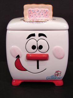 Kellogg's Milton the Toaster Pop Tart Cookie Jar Canister | eBay