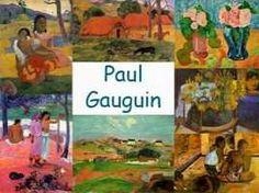 Leuke en informatieve powerpoint over Paul gauguin voor 5, deze en nog vele andere kun je downloaden op de website van Juf Milou.