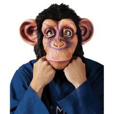 チンパンジーマスク動物コスプレグッズ