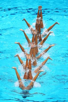 Synchronized Swimming - Mexico team, FINA World Championships