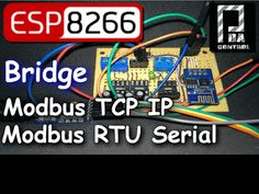 ESP8266 Mode Bridge Modbus RTU Slave - Modbus TCP IP Slave - PDAControl