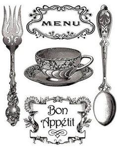 Imagenes vintage para transferir a las manualidades