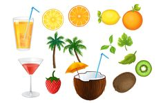 Summer Snacks, Fruit Juice, Summer Cocktails, Your Design, Vector Free, How To Draw Hands, Coconut, Juice Drinks, Hand Reference