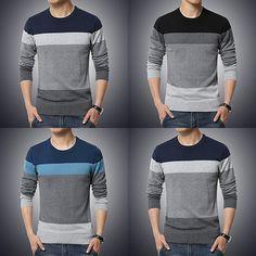 Casual Striped Sweater