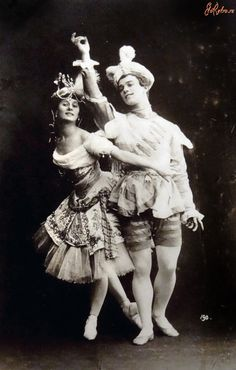 Anna Pavlova and Vaslav Nijinsky as Armida and her slave in Le Pavillon d'Armide, 1907. Le Pavillon d'Armide is a ballet in one act and three scenes choreographed by Michel Fokine. It was first presented on 25 November 1907 at the Mariinsky Theatre in Saint Petersburg, with staging and costumes by Alexandre Benois. Principal dancers Pavlova in the role of Armida, Nijinsky as her slave, and Pavel Gerdt as the Vicomte René de Beaugency.